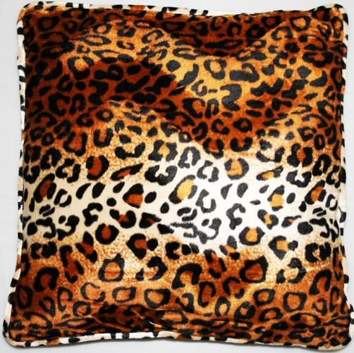 kissen animal print gro tierfellkissen kunstfell dekokissen sofakissen ebay. Black Bedroom Furniture Sets. Home Design Ideas