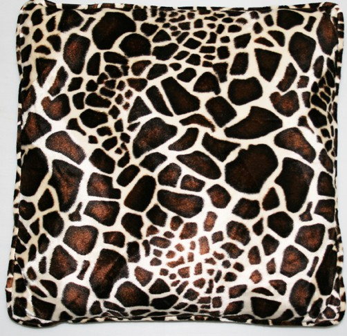 kissen animal print gro tierfellkissen kunstfell dekokissen sofakissen. Black Bedroom Furniture Sets. Home Design Ideas