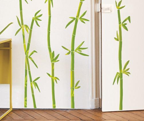 Wandtattoo bambus wohnen dekosticker wandtattoos - Wandsticker bambus ...