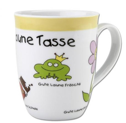 blinies gute laune tasse kaffeetasse kaffeebecher sheepworld aufmunterung tee ebay. Black Bedroom Furniture Sets. Home Design Ideas