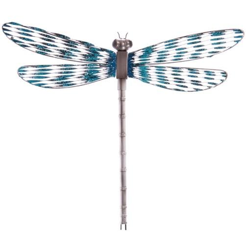 metall wanddeko libelle dragonfly wand deko f r drinnen. Black Bedroom Furniture Sets. Home Design Ideas
