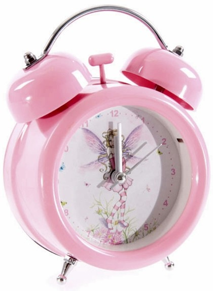 wecker elfen elfe feen fee fantasy rosa pink m rchen sage. Black Bedroom Furniture Sets. Home Design Ideas