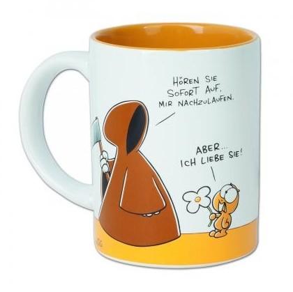 Nicht Lustig Tasse : nichtlustig tasse tod lemming kaffeetasse kaffee ~ Watch28wear.com Haus und Dekorationen