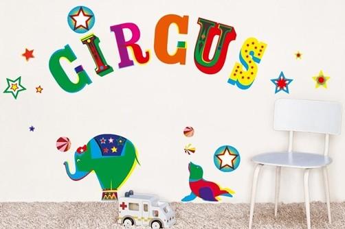 Wandtattoo wandsticker homesticker zirkus elefant circus for Zimmer deko zirkus