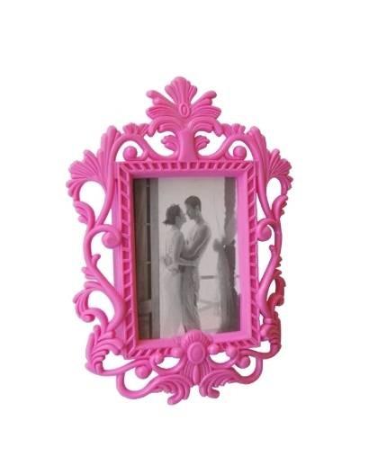 magnet barock bilderrahmen pink kult fotorahmen ebay. Black Bedroom Furniture Sets. Home Design Ideas