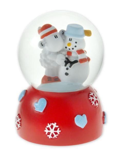 sheepworld mini schneekugel schneemann weihnachten xmas. Black Bedroom Furniture Sets. Home Design Ideas