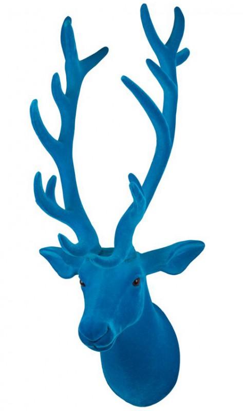 deko hirschkopf mit kunstfell in versch farben geweih weihnachten hirsch xmas ebay. Black Bedroom Furniture Sets. Home Design Ideas