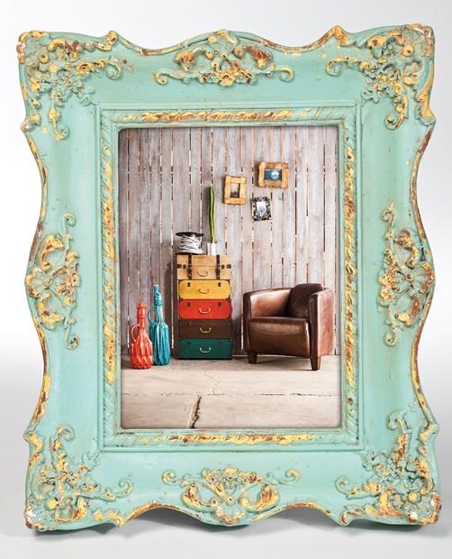 bilderrahmen shabby barock chic square 13 5 x 18 5 cm vintage fotorahmen used ebay. Black Bedroom Furniture Sets. Home Design Ideas
