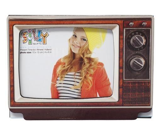 Magnet-Bilderrahmen-Fernseher-in-versch-Farben-Fotorahmen-Kuehlschrankmagnet