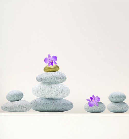 wandtattoo steine zen reuniecollegenoetsele. Black Bedroom Furniture Sets. Home Design Ideas