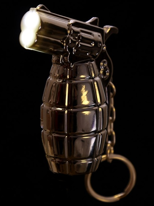 mini led taschenlampe schl sselanh nger handgranate kaufen. Black Bedroom Furniture Sets. Home Design Ideas