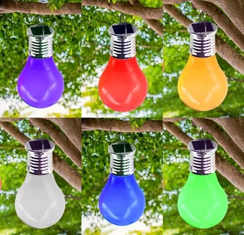 solar led gl hbirne beleuchtung lampe leuchte garten. Black Bedroom Furniture Sets. Home Design Ideas