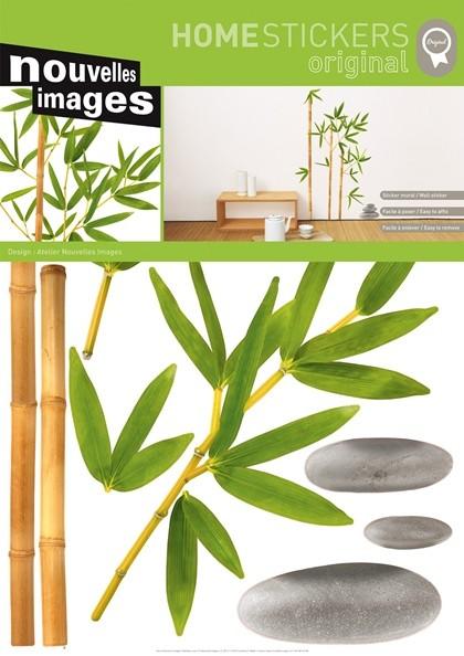 Wandtattoo bambus und steine kaufen - Wandsticker bambus ...