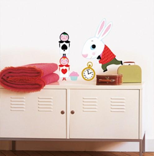 wandtattoo alice im wunderland kaufen. Black Bedroom Furniture Sets. Home Design Ideas