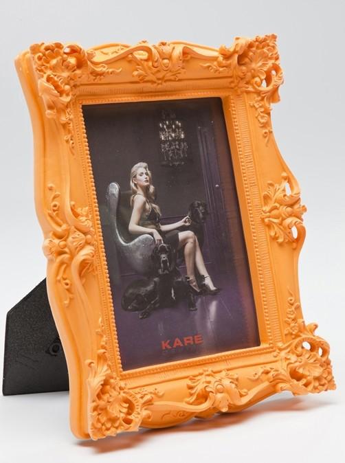 bilderrahmen shocking barock neon 13 x 18 cm wohnen wanddeko bilderrahmen. Black Bedroom Furniture Sets. Home Design Ideas